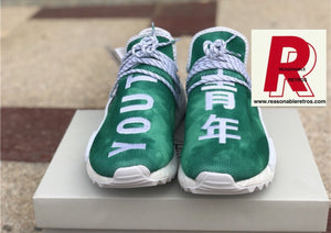 Pharrell Williams X Adidas NMD Human Race Green