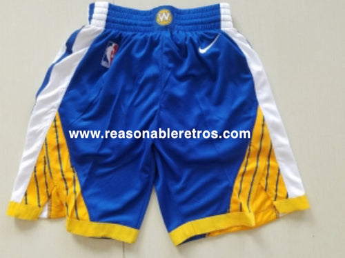 Golden State Warrior NBA Game Shorts