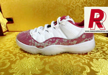 Load image into Gallery viewer, Jordan 11 Pink Snakeskin