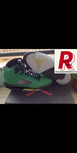 Jordan 5 Oregon Duck