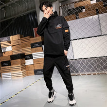 Load image into Gallery viewer, Pullover hoodie & Long Pants Mens Clothing