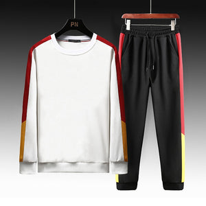 Autumn Male Sweatsuit Sportswear