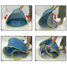 UV Protected Baby Tent Pool