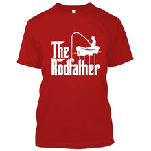 Adult Rodfather Funny Fishing Father/Grandfather Tshirt - 8 Color Options