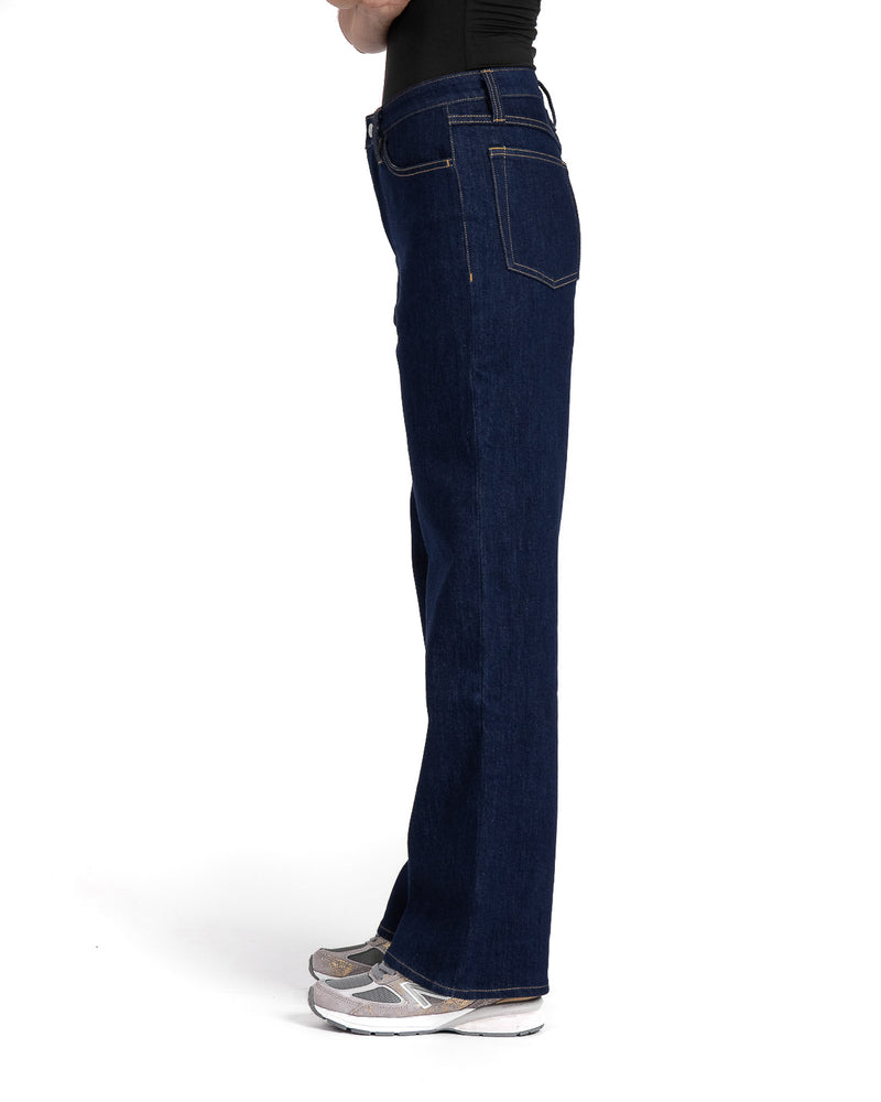 masculine unspun blue loose fit jeans