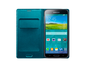 Flip Wallet Cover (Galaxy S5)
