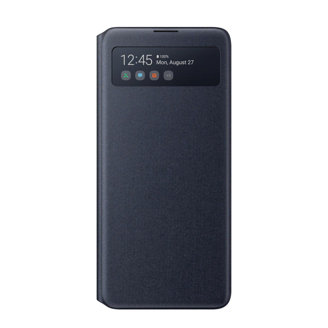 S View Cover Note 10 Lite - BLACK OUTLET