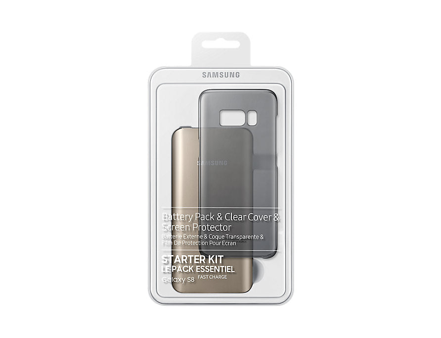 Starter Pack (FC Battery Pack, Clear Cover, SP, MicroUSB cable) (Galaxy S8+)