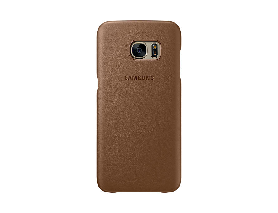 Galaxy S7 Edge Leather Cover