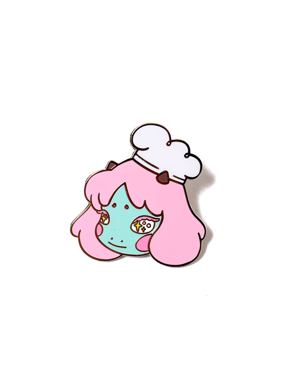 cosmic girl pin badge