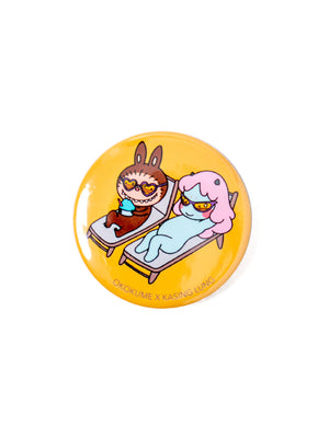 cosmic girl x labubu can badge 04