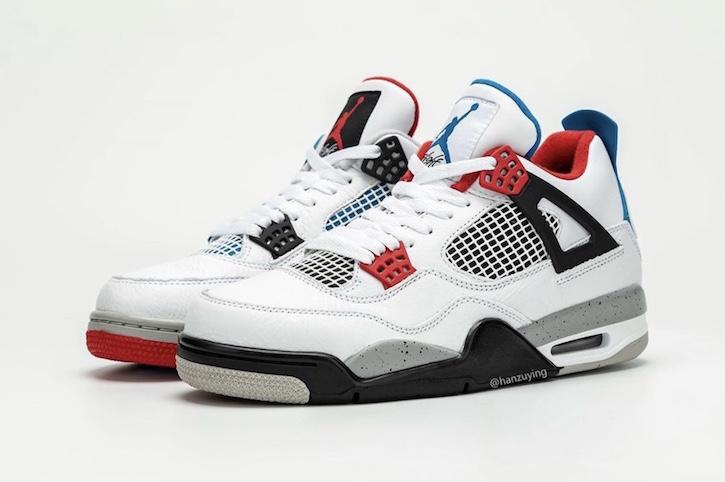 Air Jordan 4 What The Sneaker Release