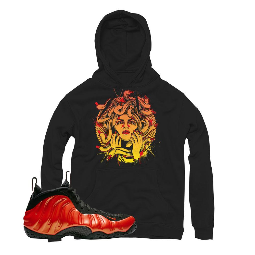 Foamposite Habanero Red Medusa Hoodie  a2a653271