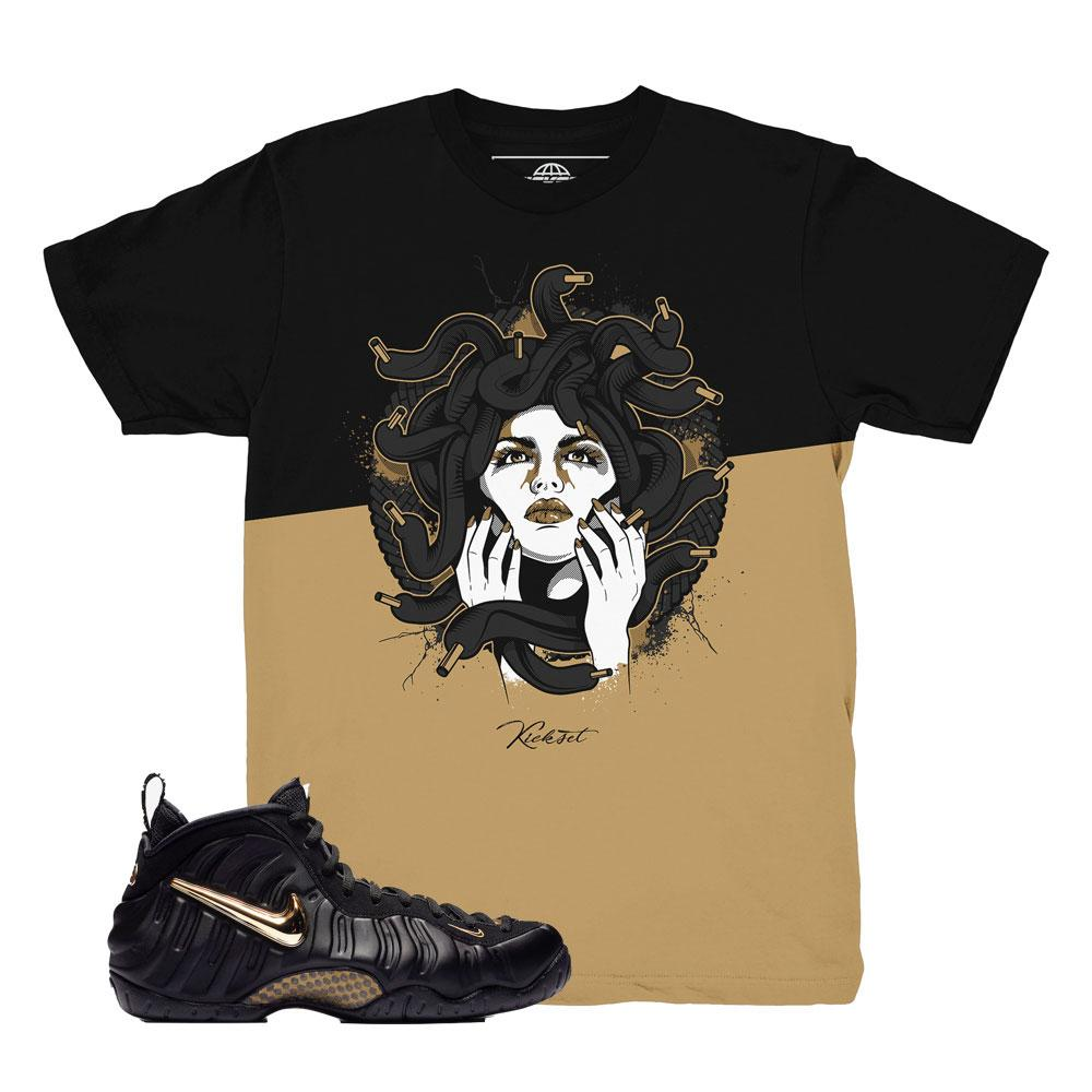foamposite pro gold shirts | nike foamposite tees | foam pro gold t-shirts