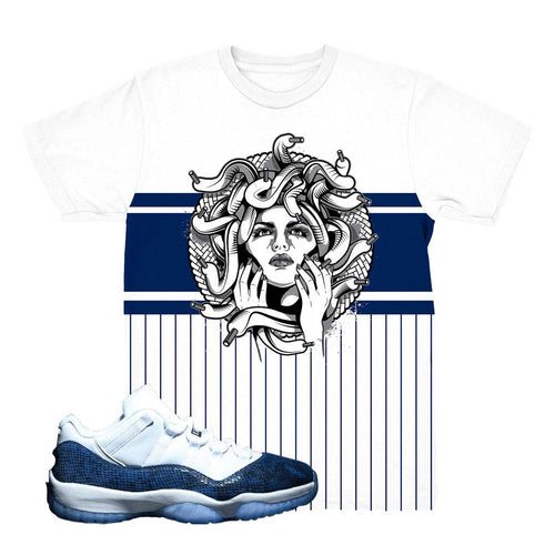 jordan 11 blue snakeskin shirts | retro 11 clothing | blue snakeskin jordan 11 tees