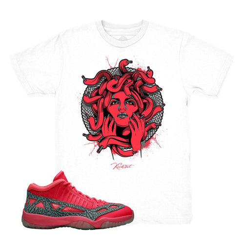 309d0e2a54c jordan 11 ie flash crimson shirts | retro 11 tees | flash crimson jordan t-