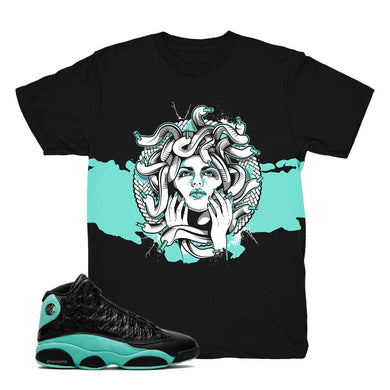 jordan 13 island green shirts | retro 13 island green clothing | island green 13 tees