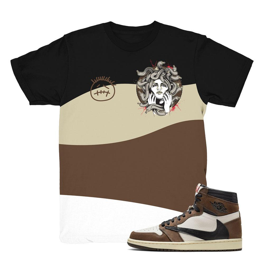best service 64f16 279cb jordan 1 cactus jack shirts   retro 1 clothing   travis scott 1 tees