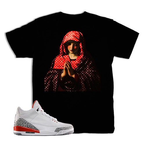 Jordan 3 Katrina Pray For Hype Shirt