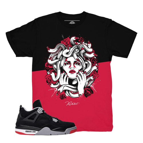 jordan 4 bred shirts | retro 4 clothing | bred 4 tees