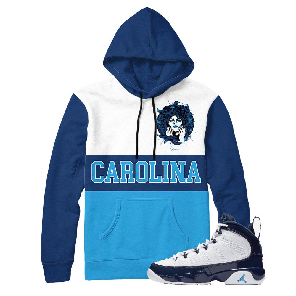 jordan 9 unc shirts | retro 9 jordan clothing | unc 9s tees