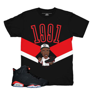 jordan 6 infrared shirts | retro 6 clothing | infrared 6s jordan tees