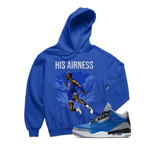 Jordan 3 Blue Cement shirts | Retro 3 Jordan T-Shirts | Blue Cement 3s Tees