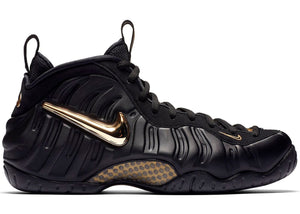 385280baccd28 nike air foamposite pro black metallic gold | nike foamposites | nike  sneakers