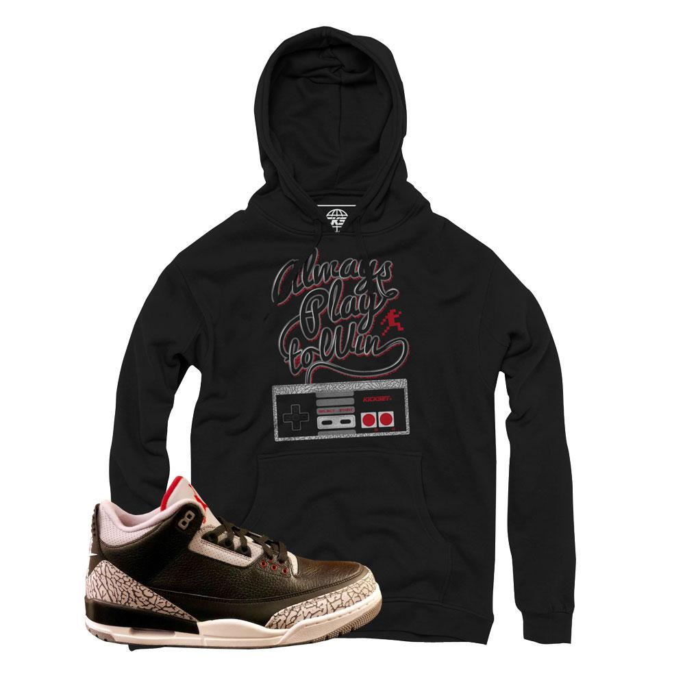 Jordan 3 cement hoodies : retro 3 cement hoody : cement 3s clothing