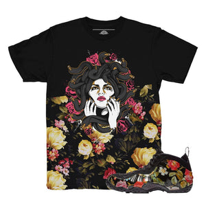 foamposite floral shirts | nike foamposite clothing | floral foams tees