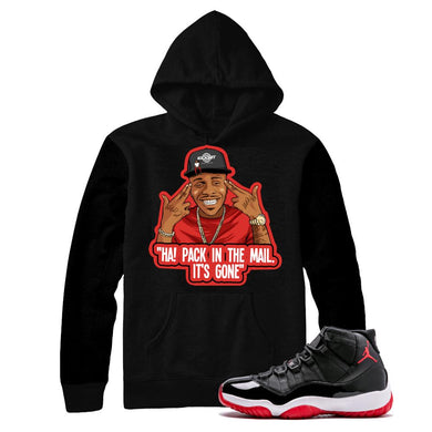 jordan 11 bred hoodies | retro 11 bred clothing | bred 11 tees