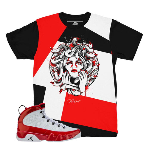jordan 9 gym red shirts | retro 9 air jordan t-shirt | gym red 9s tees