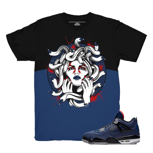 jordan 4 winter loyal blue shirts | retro 4 clothing | wntr loyal blue tees
