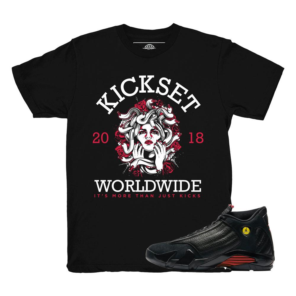 last shot 14 shirts | jordan 14 retro clothing | jordan 14 last shot tees