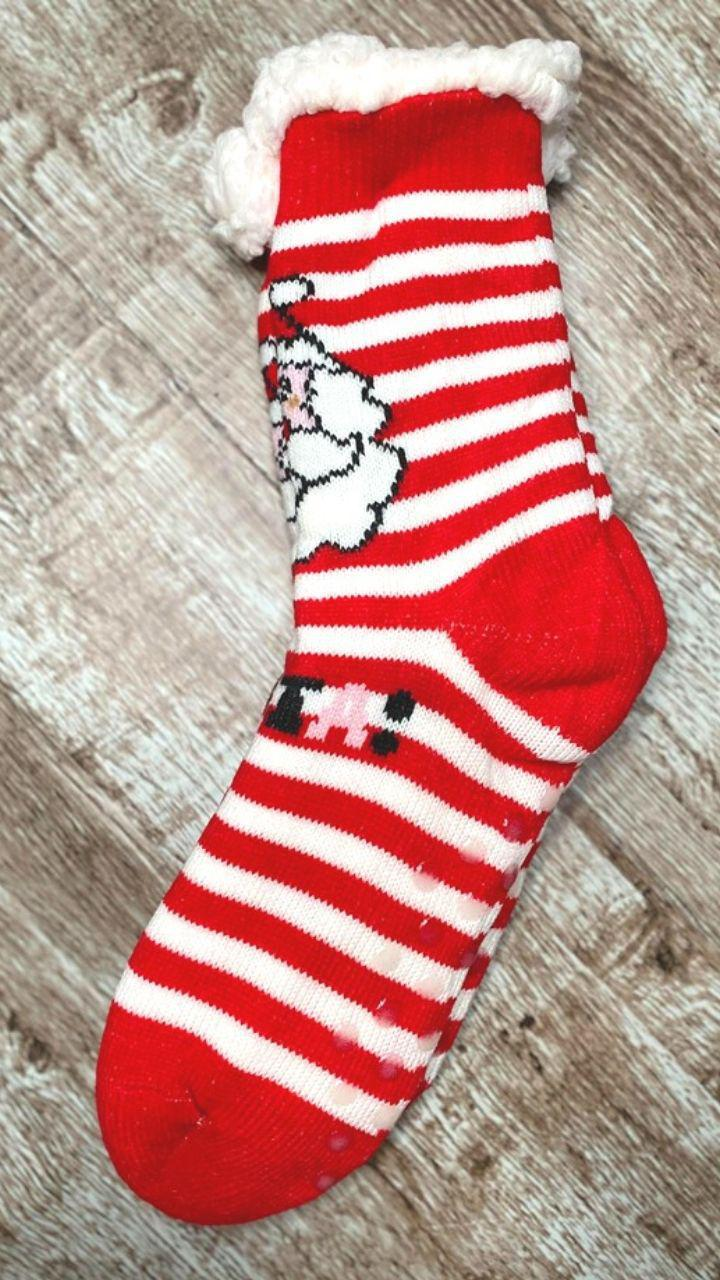 ADULT Santa Sock - Trendy Plus Size Women's Boutique Clothing