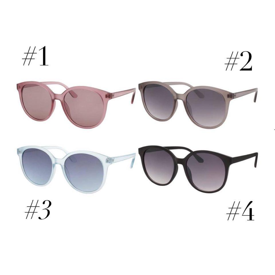 Phoenix Round Fashion Sunglasses Women | 4 Colors - Trendy Plus Size Women's Boutique Clothing
