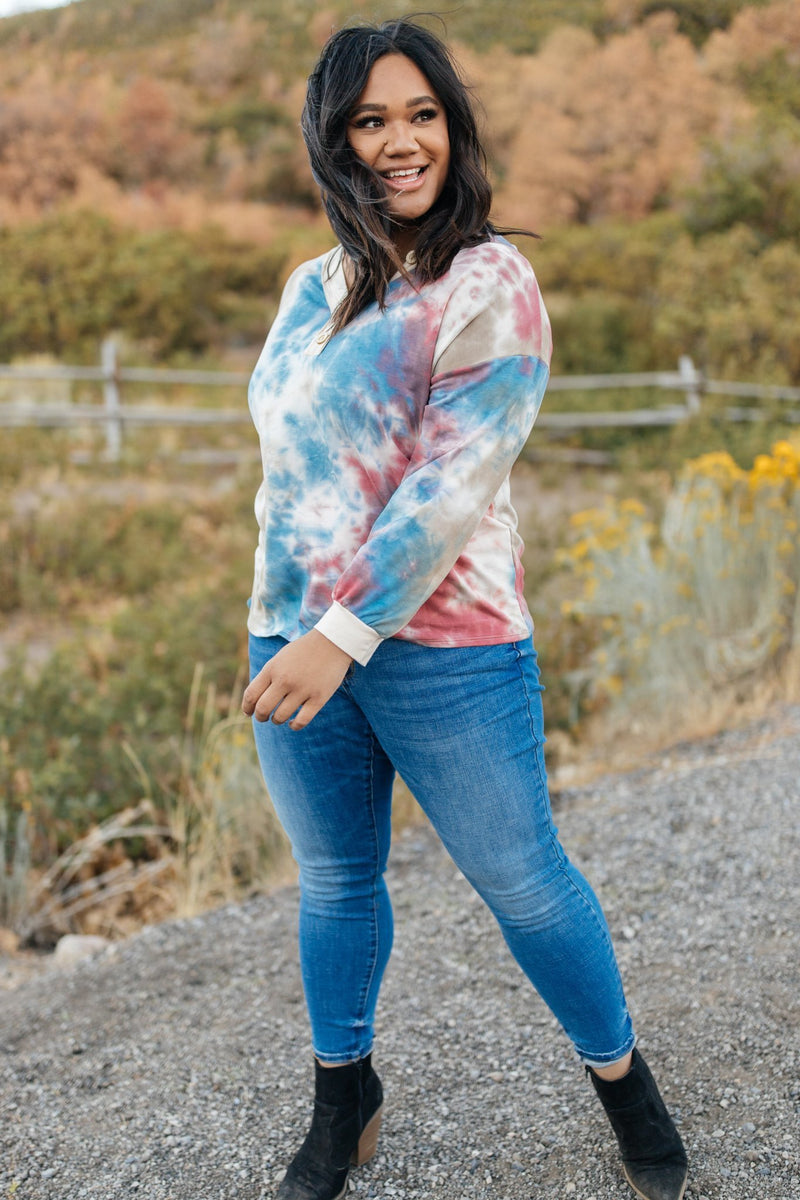 New Haven Tie Dye Top