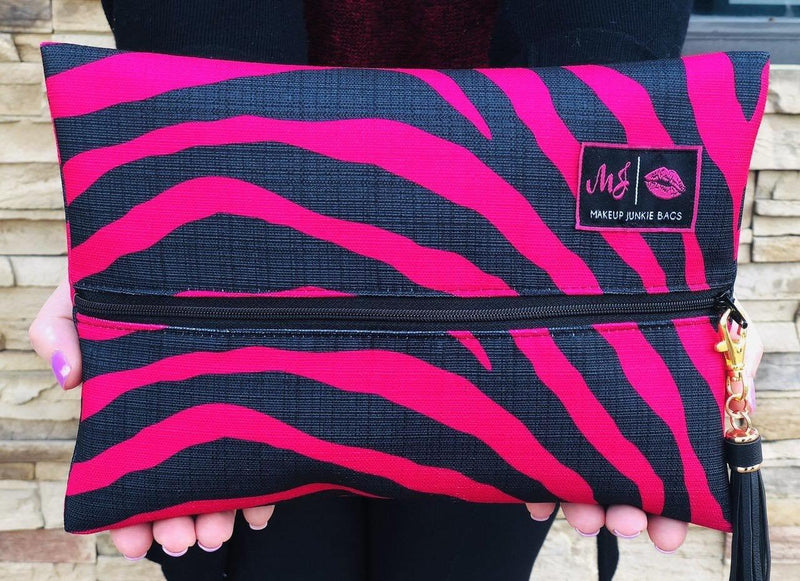 Make Up Junkie Bag | MJ Fever - Trendy Plus Size Women's Boutique Clothing