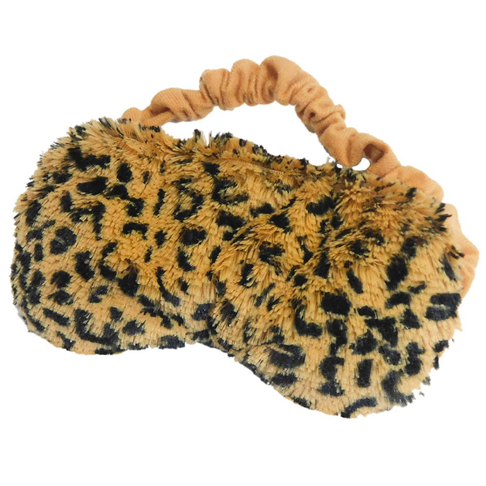 Leopard Eye Mask Warmies