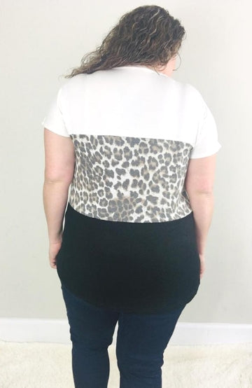Catch Me If You Can Tee - Trendy Plus Size Women's Boutique Clothing