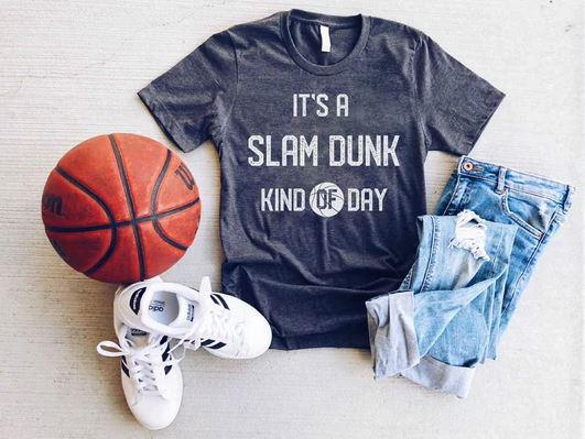 PREORDER| It's a Slam Dunk Kind of Day - Trendy Plus Size Women's Boutique Clothing