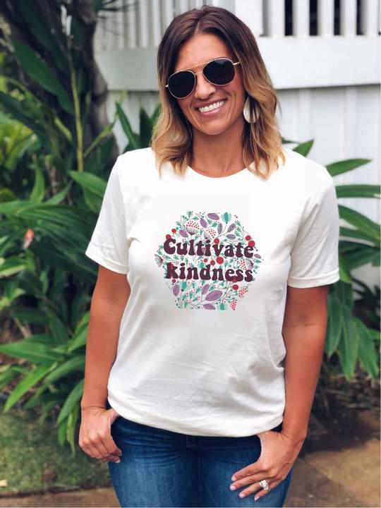 PREORDER | Cultivate Kindness Cream - Trendy Plus Size Women's Boutique Clothing