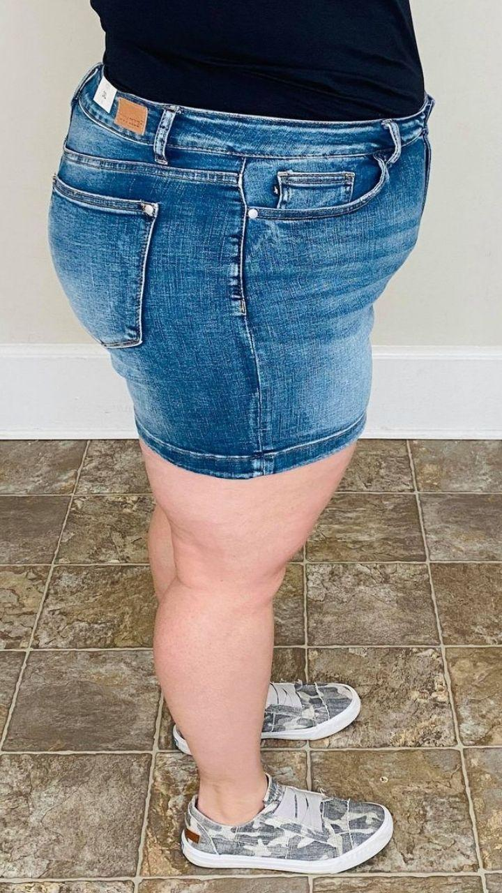 Non Distressed Judy Blue Shorts