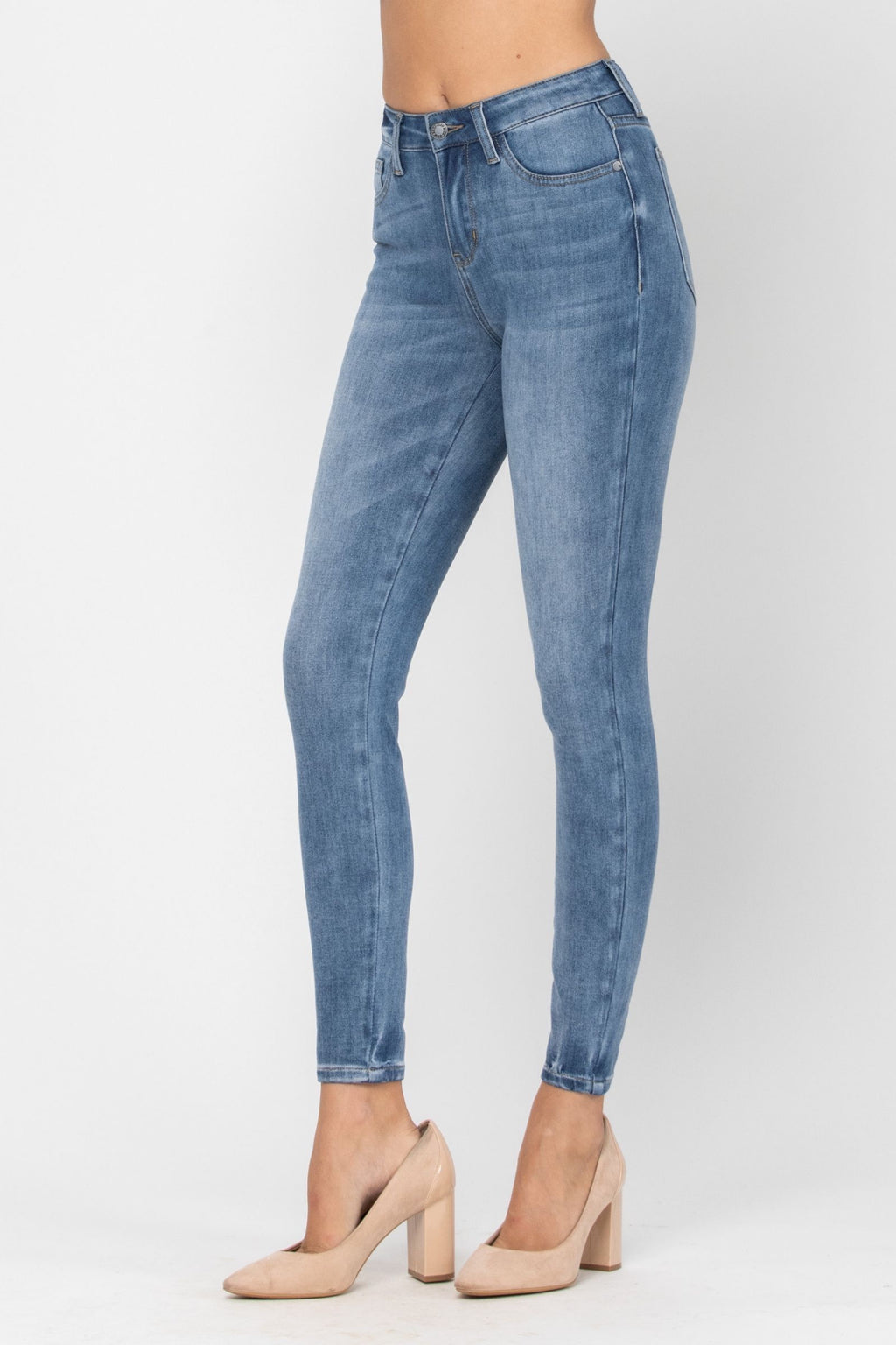 Judy Blue ThermaDenim Skinny Fit | Medium Wash - FINAL SALE