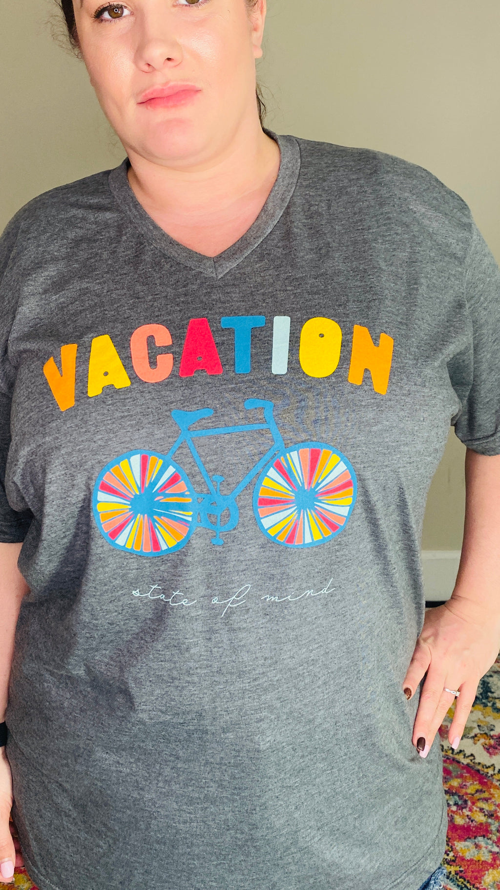 Vacation State Of Mind Graphic Tee