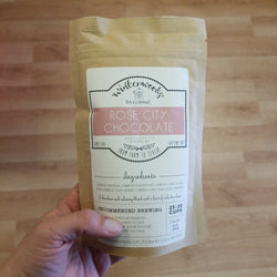 Winterwoods Rose City Chocolate Tea - Herbal - Caffeine Free - 2 oz