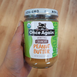 Crunchy Organic Peanut Butter - Once Again Nut Butter