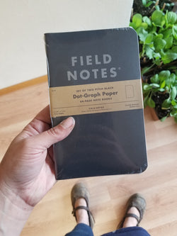 Field Notes - Black Memo Book 2-pack