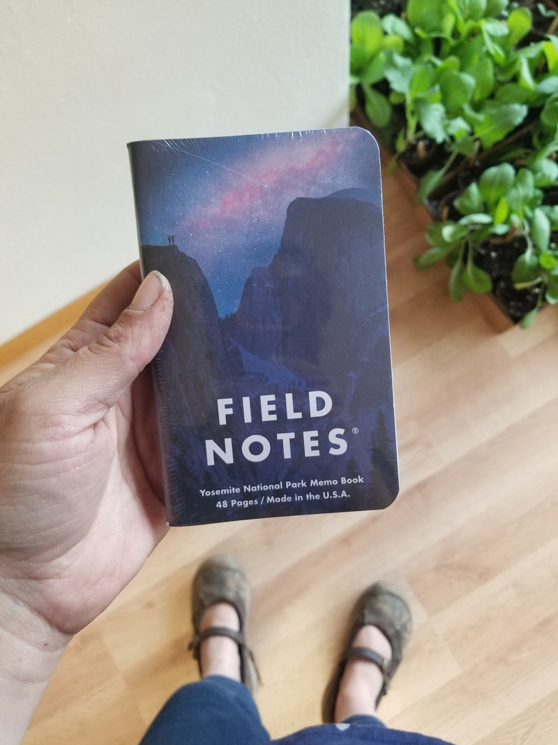 Field Notes - National Parks 3-Pack - Yosemite/Zion/Acadia