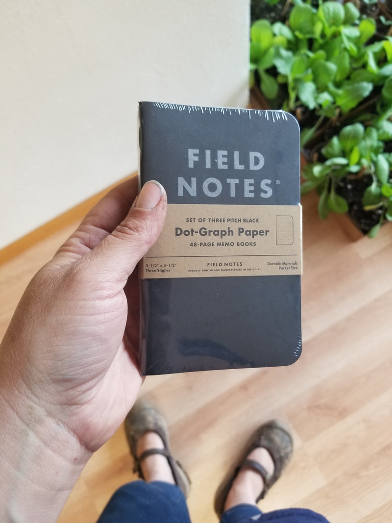 Field Notes - Black Memo Book 3-pack